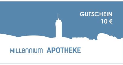 Gutschein Millennium Apotheke